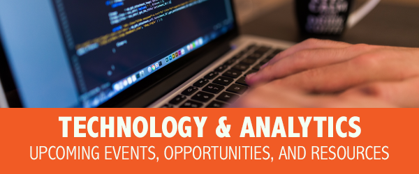 Technology and Analytics Email Newsletter